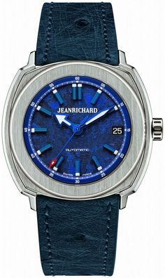 Jeanrichard Terrascope Blue Baselworld, the worlds largest watch and jewelry show, is set to begin March 2015 and run through Marc. Jean Richard, Hand Watch, Jewelry Show, Unisex, Casio Watch, Luxury Watches, Watches For Men, Men's Watches, Omega Watch