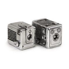 Wildon Home ® 2 Piece Vintage Camera Box Set