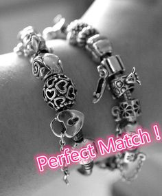 Make charm bracelet for yourself like this! Unique and Special Gift Ever! #charms #bracelet #pandora #beads
