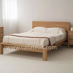 Modern Design Single Bed Made of Solid Teak Wood, This Single Bed is Stylish & Modern Available in Different Color as Well. Bed Frame For Hotels & Homes. Wood Bedroom Furniture, Bedside Cabinet, Wood Beds, Bespoke Furniture, How To Make Bed, Teak Wood, Bed Frame, Mattress, Solid Wood