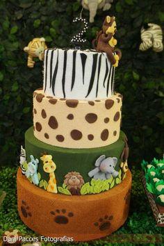 Festa de Aniversário - Tema Safari | Detalhes em Detalhes