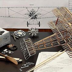Sopwith Camel Airplane Model: 1:16 Scale WWI Sopwith Camel Structural Model
