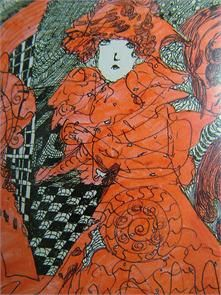 Madge Gill(1882-1961) One of the world's most highly regarded Outsider artists.