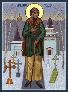 Saint Xenia/Russia