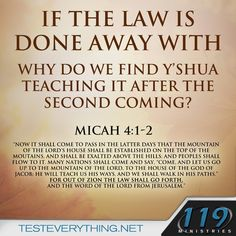119 Ministries ~ Test Everything