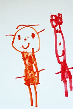 child artt- pinned by Iwona Heymann Artists For Kids, Art For Kids, Six Letter Words, Child Art, Painting For Kids, Primitives, Make Me Smile, Infant, Paintings