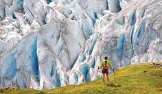 Hike Harding Icefield Alaska