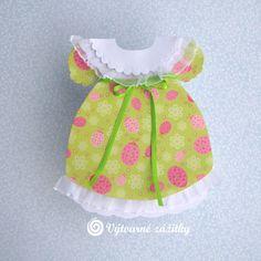 VyZa: Dívčí šaty. Dress card.