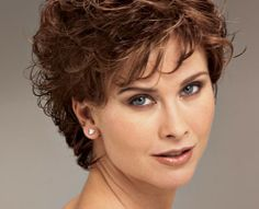 shoet hair styles for women over 50   short curly hairstyles for women over 40