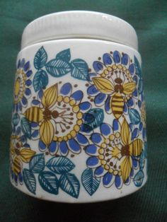 Original Figgjo Flint honey pot - Norwegian pottery |Pinned from PinTo for iPad|