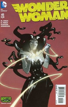 from $3.0 - Wonder Woman #45 Monster Variant 2015 Dc #Comics Nm Finch Glapion Anderson