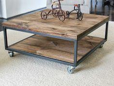 áTICO Furniture : Square Coffee Table