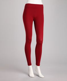 Take a look at this Rosso Classic Leggings by Philippe Matignon on #zulily today!