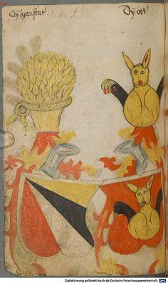 Ortenburger Wappenbuch Bayern, 1466 - 1473 Cod.icon. 308 u  Folio 101v