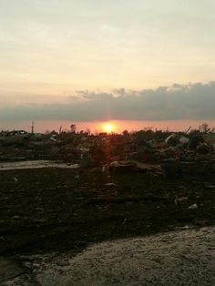 Some of the massive damage done by the Moore Oklahoma tornado! Prayers for all Oklahoma's. We are stronger than any tornado .