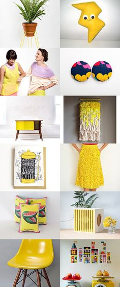 Mustard Hues by Delia on Etsy--Pinned with TreasuryPin.com