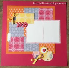 all i create: Cheerful Layout...