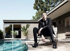 DIOR HOMME par Kris van Assche | SS 2014 ad campaign | model: Tim Schuhmacher | photo by Willy Vanderperre