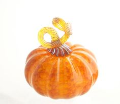 Glass Blown Pumpkin!
