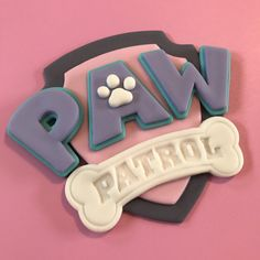 Paw Patrol Cake Topper Girl-Fondant