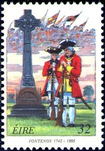 1995 Irlanda-Aniversario 250º. de la Batalla de Fontenoy