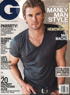 item details: Entire Issuekeywords: Chris Hemsworth