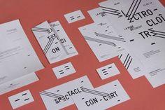 La Muse en Circuit by Acmé Book Design Layout, One Design, Print Design, Graphic Design Studio, Graphic Design Inspiration, Corporate Design, Acme Studio, Muse, Typography Design