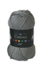 Cottony DK - Silver Winter Hats, Silver, Money