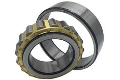Single row cylindrical roller bearing can carry a higher radial load capacity in comparison to same dimension ball bearing. Normally, it is not used to bear an axial load, in the case where there is a rib, the bearing can bear a slight axial load between the end of the rollers and the rib. Rollers, Carry On, The Row, Bear, Leather, Hand Luggage, Carry On Luggage, Bears