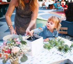 DIY Baby Shower Activity - Make Your Own Terrarium  #currentlycoveting