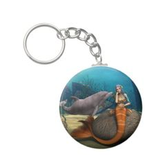 Shop for customizable Mermaid keychains on Zazzle. Buy a metal, acrylic, or wrist style keychain, or get different shapes like round or rectangle! Key Chains, Little Things, Sad, Mermaid, Personalized Items, Stuff To Buy, Key Fobs, Keychains, Porte Clef