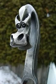 Image result for forged dragon head