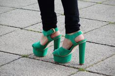 Green Giant platforms. Ha, no I didn't mean the vegetable brand...