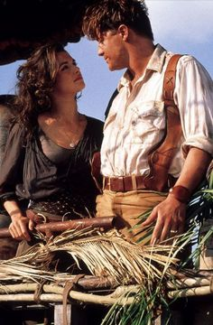 For some reason, I love The Mummy. All of the movies. I'm pretty sure its cos of Brendan Fraser. There's something about a bookish guy that I love.