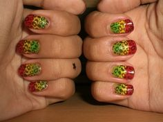 Reggae - Nail Art photos
