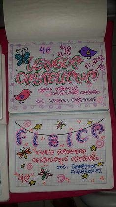 Ideas Para, Bullet Journal, Kawaii, Lettering, Notebooks, Tags, Alphabet, School, Bookmarks