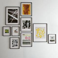 frames that have mats in them starts at $19 all black frames