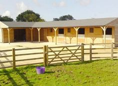 Image result for open concept horse stables