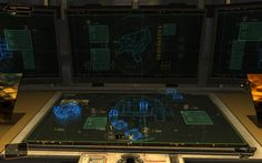 Deus Ex Human Revolution - User Interface on Wacom Gallery