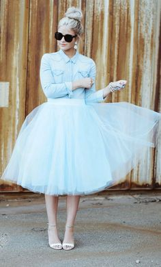 Bądź jak baletnica – tiulowe spódnice EXAMPLE.PL