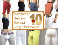 Menswear Review's Top 10 Sexiest Long Underwear