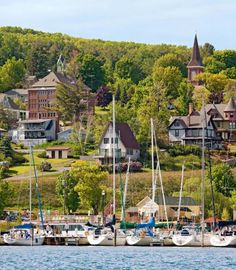 Bayfield, Wisconsin: No Midwest town nails the NPR/adventure intersection like the classy village on Lake Superior's shore.
