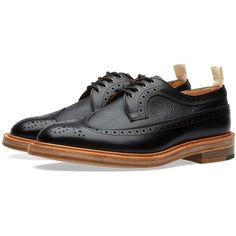 0429e8302da END. x Tricker s Richard Golosh Brogue ( 540) ❤ liked on Polyvore featuring  men s