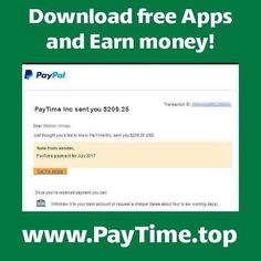 Hello everybody  Today we will earn money by downloading Free Apps, here in PAYTIME ! Go faster and enjoy !
