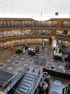 Stockholm Public Library - idea for expansion of BRPL? Dream big.