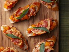This Butternut Squash Crostini is a classy take on finger-food and a great addition to your Oscar night menu.