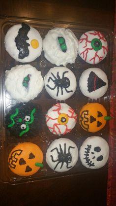 Halloween cupcakes! Deb's