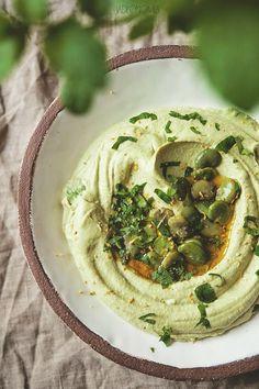 Hummus z bobu » Jadłonomia