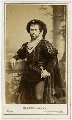 """Jean-Baptiste Faure (1830-1914) in """"Hamlet"""""""