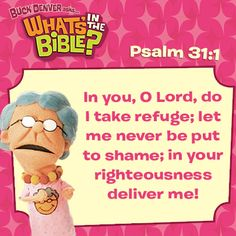 Psalm 31:1 short, free devotional at whatsinthebible.com